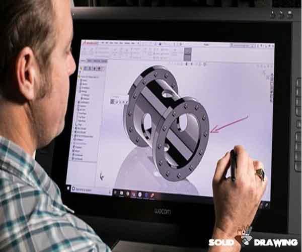 انجام خدمات نقشه کشی و طراحی صنعتی